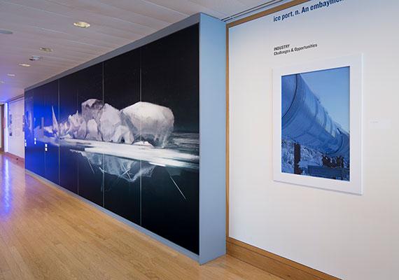 Exhibition & Graphic Design: ON ICE